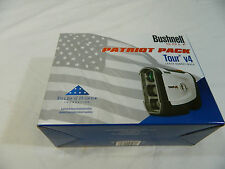New Bushnell Tour V4 Jolt Technology Laser Golf Rangefinder V 4 Patriot Pack