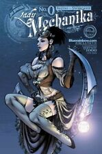 LADY MECHANIKA #0 BLUERAINBOW EXCLUSIVE L/E 1000 BENITEZ STEIGERWALD ASPEN NM