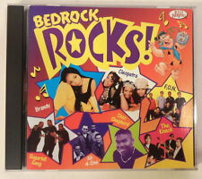 Flintstones Bedrock Rocks! (1999 Kid Rhino CD w/Brandy/All-4-One/more) LN COND