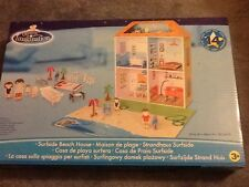 Dolls house beach house with accessories BNIB