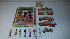 Vintage Happy Days Playset 1976 Featuring The Fonz