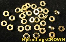 300 pcs Antiqued gold Smooth tube spacer beads FC842