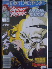 Marvel Comics presents GHOST RIDER and IRON FIST n°117 1992 Marvel Comics  [SA6]