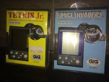 GAME WATCH GIG Vintage Space Invaders Tetris Lcd Keychain By Taito Game Hiro