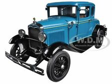 1931 FORD MODEL A COUPE BLUE 1/18 DIECAST CAR MODEL BY SUNSTAR 6130