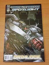 The Transformers: Spotlight: Grimlock #1 ~ NEAR MINT NM ~ 2008 IDW COMICS