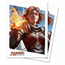 MTG 80 Oath of the Gatewatch Card Sleeves Deck Protectors Chandra 86304 NEW