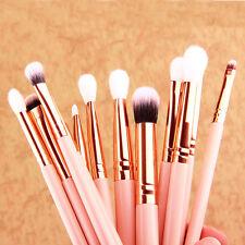 12Pcs Makeup Brushes Set Foundation Powder Eyeshadow Eyeliner Lip Brush Tool #S2