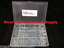 Phillip Pan Head Machine Screws Assortment Zinc 6-32, 8-32 & 10-24 With Case