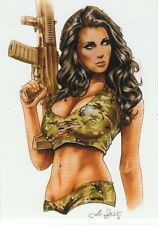 BAD AXE STUDIOS - BOMBSHELLS - 50 CARD SET - NO SKETCH - ( NUDITY / PIN-UP )