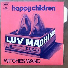 "LUV MACHINE Witches Wand 7"" MONSTER GARAGE SPIN ♫"