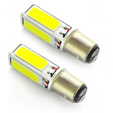 2x Car Fog Light 1157 BAY15D COB 20W LED Brake Turn Signal Rear Light Bulb Lamp