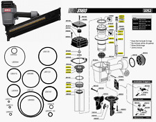 Senco Framing Nailer SN60 SN65 O ring Kit
