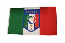 ITALIA ITALY COUNTRY FLAG & FIFA WORLD CUP FIGC LOGO 3' X 5' FEET FLAG BANNER