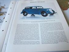 Deutsches Automobil Archiv 1 Geschichte 1061 Opel Olympia Cabrio 1935