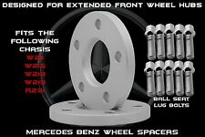 2 Pc Mercedes Benz  CLS63 AMG 2005-2015 10mm Thick Wheel Spacers Ext. Front Hub
