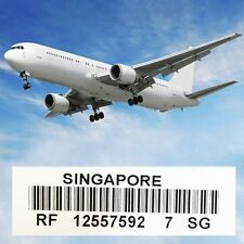 Standard Shipping Service Tracking Number Singapore Package Registered Letter