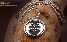 God of War Ares Kratos Wolf Pendent necklace Titanium Steel Free shipping