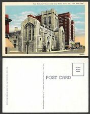 Old Indiana Postcard - Gary - First Methodist Church and Hotel Gary