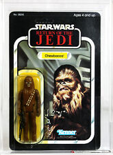 Vintage Star Wars Carded ROTJ 65 Back-B Chewbacca Action Figure AFA 80+ Y-NM #11