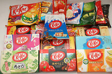 Japanese Kit Kat - Winter Treat Box 40+ bars! Citrus, Apple, Rum, Pudding etc