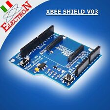 ZIGBEE XBEE SHIELD V03 x Moduli WIRELESS BLUETOOTH BEE ecc x ARDUINO