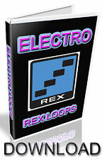 ELECTRO REX Loop-motivo RICARICA-Cubase-Pro Tools-logica-Ableton