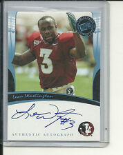 LEON WASHINGTON RC AUTOGRAPH FL STATE SEMINOLES 2006 PRESS PASS LEGENDS FSU