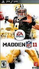 Madden NFL 11 UMD PSP GAME SONY PLAYSTATION PORTABLE 2K11 2011 FOOTBALL