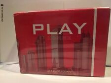 Sex In The city **Play Homme** 3.4 oz / 100 ml EDT Cologne New In A Box Men