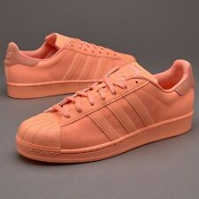 Adidas Originals Superstar Adicolor Sunglow/Orange 3M Reflective S80330 US14
