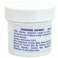 Goodwinol Ointment 1 oz Dog Skin Care Mange Itching Relief