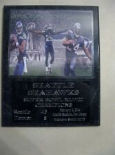 Seattle Seahawks Super Bowl XLVIII Champs plaque - New Lower Pricing!!