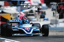 9x6 Photograph Jacques Laffite , Ligier-Matra JS17 , Spanish GP  Jarama 1981