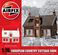 AIRFIX DIORAMA RESIN EUROPEAN COUNTRY COTTAGE RUIN NEW 1/72-1/76