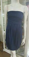 Kookai strapless dress.Sz2.Midnight blue.Stretch bodycon.As new