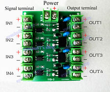 4-way FET Pulse Trigger Switch Module DC Control MOS 20A for PWM Motor Pump LED