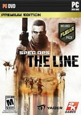 Spec Ops: The Line - Premium Edition Modern Military Third-Person Shooter PC NEW