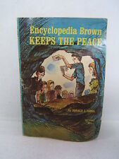 Encyclopedia Brown Keeps The Peace Donald Sobol 1971 Illustrated Shortall