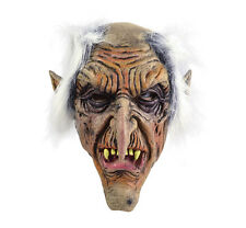 #GOBLIN RUBBER MASK SCARY FANTASY MONSTER EVIL WITCH FANCY DRESS HALLOWEEN