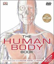 The Human Body Book...2nd Edition, Expanded & Updated..NEW Illustrated Hardcover