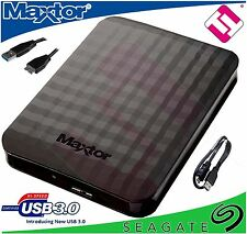 MAXTOR 1TB EXTERNO PORTATIL USB 3.0 UNIDAD DISCO DURO COMPATIBLE PS4 XBOX PC USB