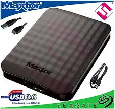 1TB DISCO DURO PORTATIL HDD DELGADO M3 PARA XBOX PS3 MAC LAPTOP SEAGATE