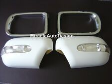One Set  LED Indicators Chrome Mirror Covers for BMW E39 5-Series & E38 7-Series