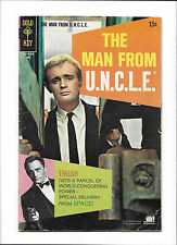 "THE MAN FROM U.N.C.L.E. #18  [1968 GD-VG]  ""THE ALIEN AFFAIR"""