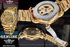 GENUINE Watch Winner Mechanical Mechanic Automatic Skeleton Montre Mecanique NEW