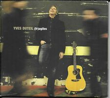 CD ALBUM DIGIPACK 12 TITRES--YVES DUTEIL--AGILES / FRAGILES--2007