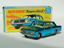 VINTAGE LESNEY MATCHBOX SUPERFAST FORD CORTINA GT No.25 VNM ORIGINAL G BOX 1970