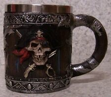 Tankard Goblet Mug Pirate 12 ounce pour NEW Stainless Steel Insert