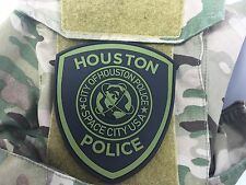 SUBDUED HOUSTON POLICE DEPARTMENT  PVC PATCH